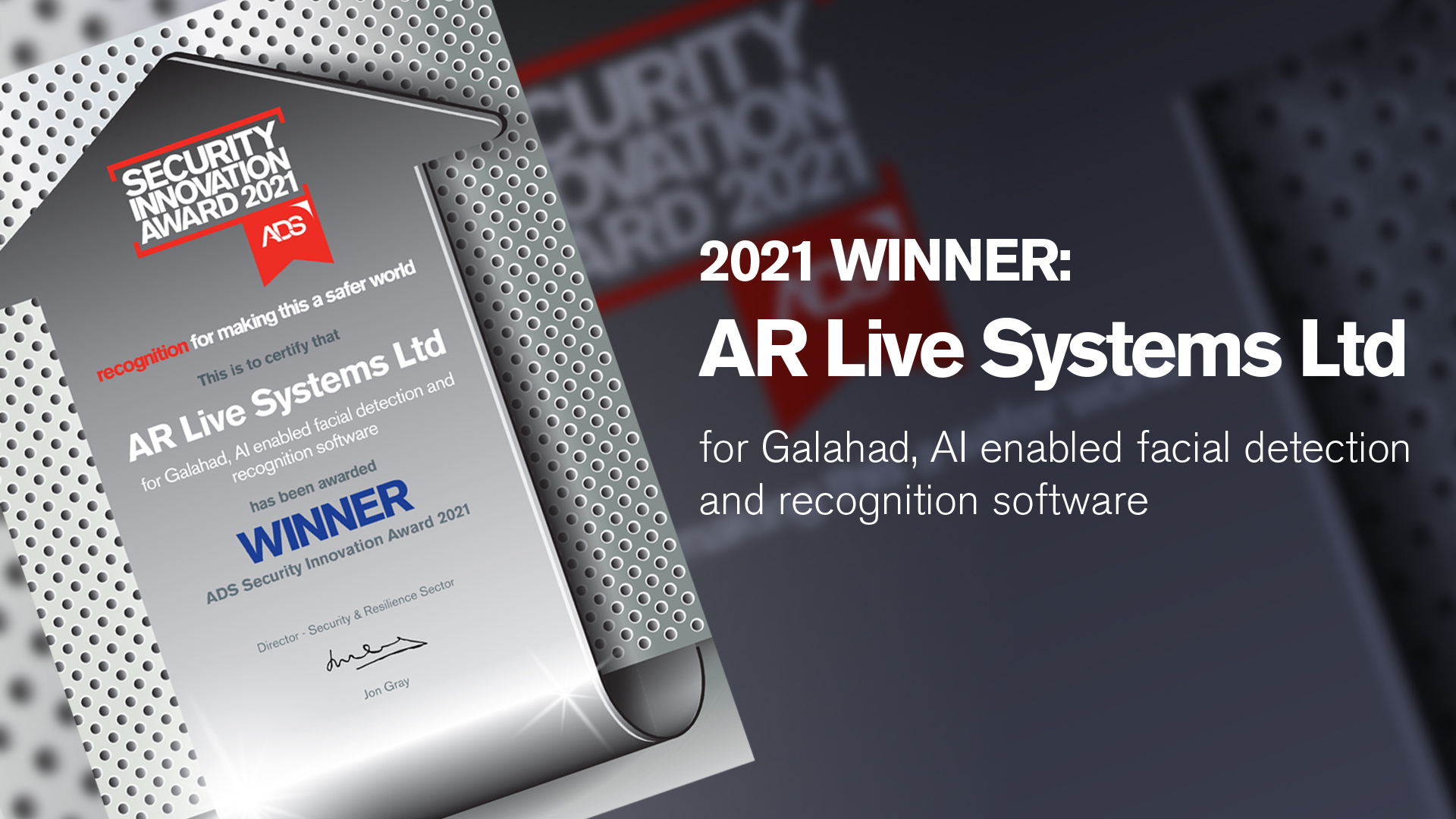 WINNER AR Live Systems Ltd Slide